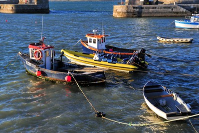 Donaghadee Harbour, County Down. Friday, 29th April 2016.