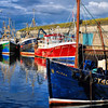 Portavogie harbour County Down
